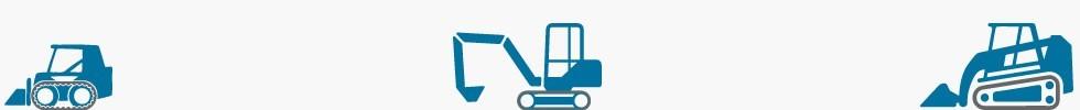 Ερπύστριες Ερπύστριες για όλους τους τύπους χωματουργικών μηχανημάτων